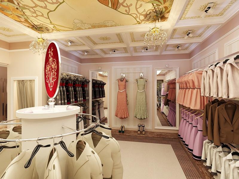 """Магазин жіночого одягу """"МаріМар"""" – Дизайн Студія ➜ INteriorⒾⓃ ace2bbd1357e4"""