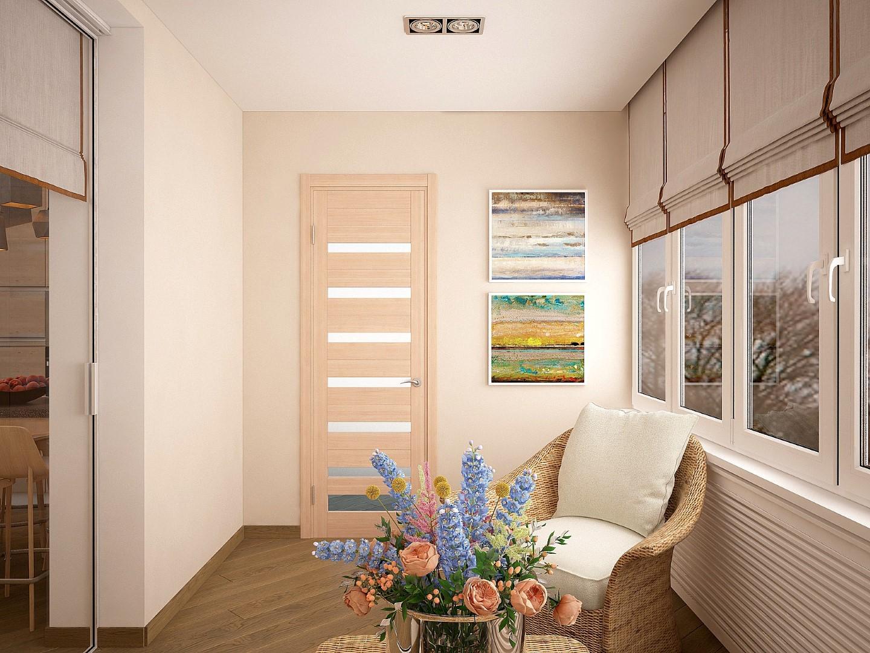 Дизайн балкону - design studio interiorin.